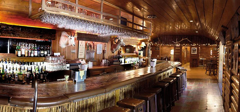 Big Sky Montana Lodging Amenities - Bar and Restaurant